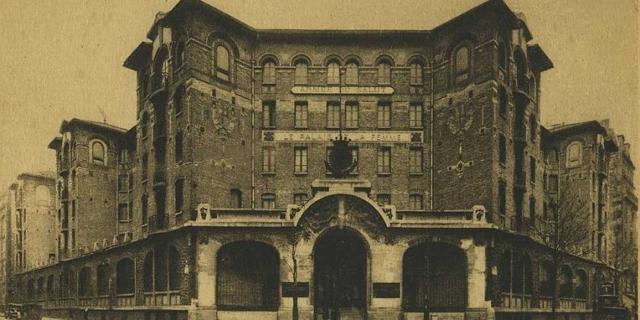 Palais de la Femme: eine alte Postkarte