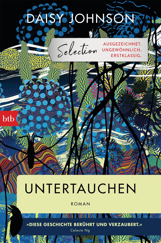 Buchcover: Illustration mit Pflanzen und Tieren