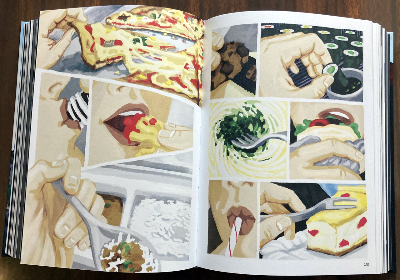 "Comic ""Bei mir zuhause"": Verschiedene Mahlzeiten"