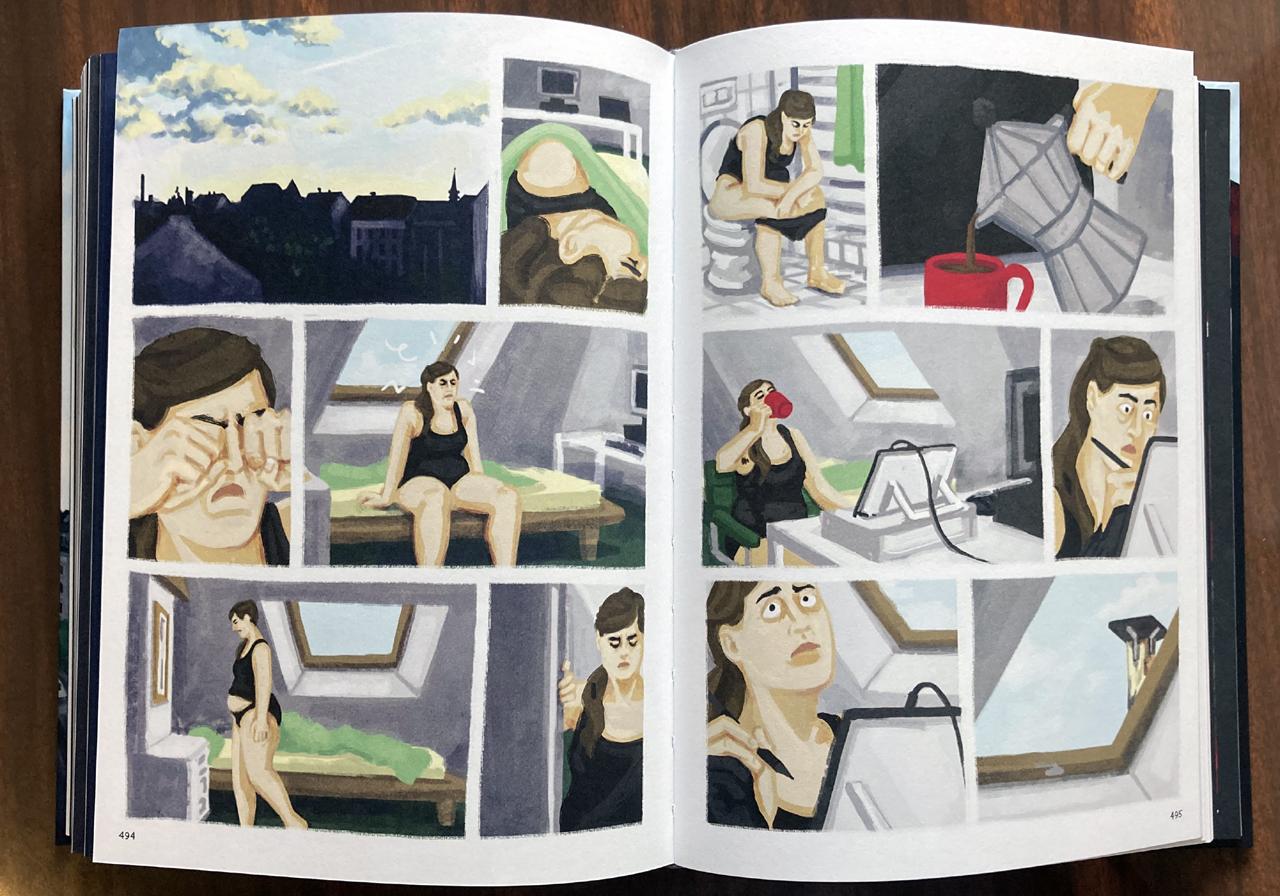 """Comic """"Bei mir zuhause"""": Alltägliche Handlungen und Gefühle"""
