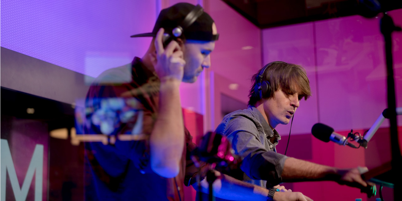 Camo & Krooked in dem FM4 Studios