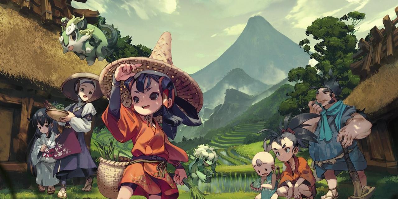 "Screenshots aus dem Game ""Sakuna"""