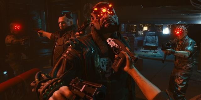 """Promobild zum Computerspiel """"Cyberpunk 2077"""""""