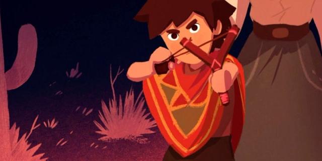 "Artwork aus dem Computerspiel ""El Hijo - A Wild West Tale"""