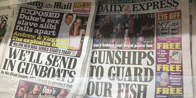 Zeitungsheadlines
