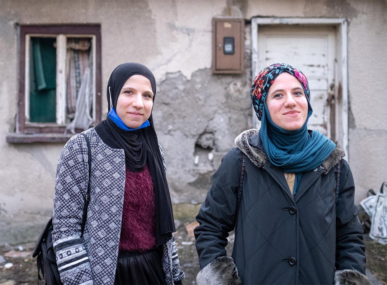 Helferinnen von SOS Balkanroute