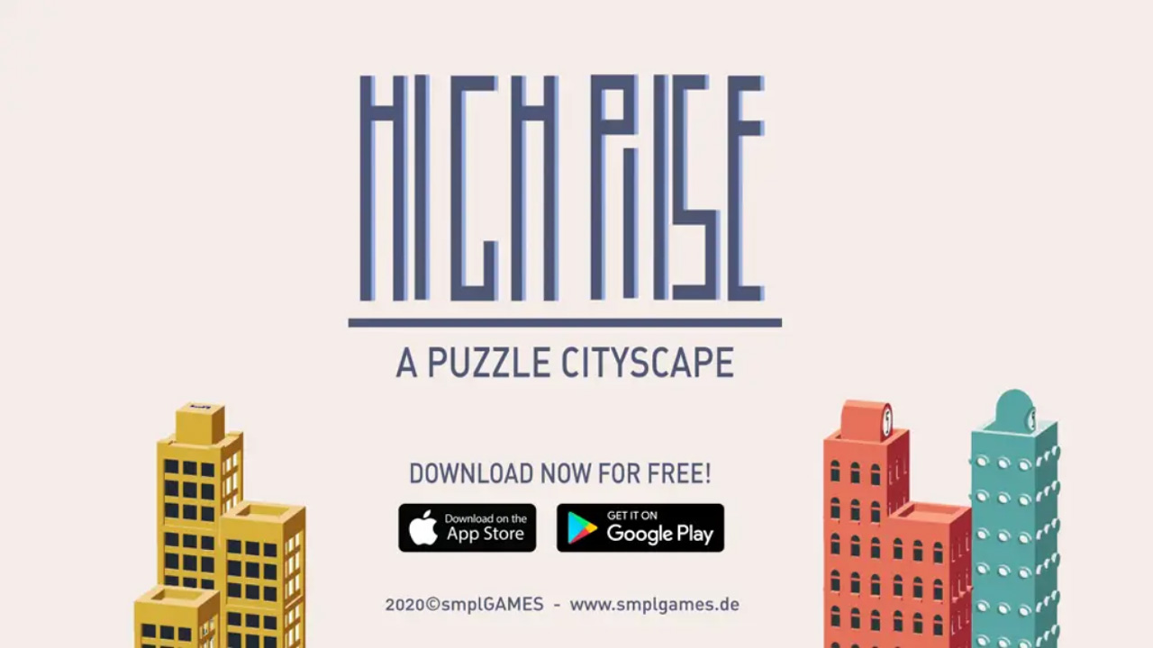 "Artwork aus dem Game ""High Rise"""