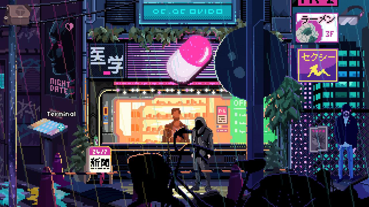 """Bildschirmfoto aus dem Game """"Virtuaverse"""""""