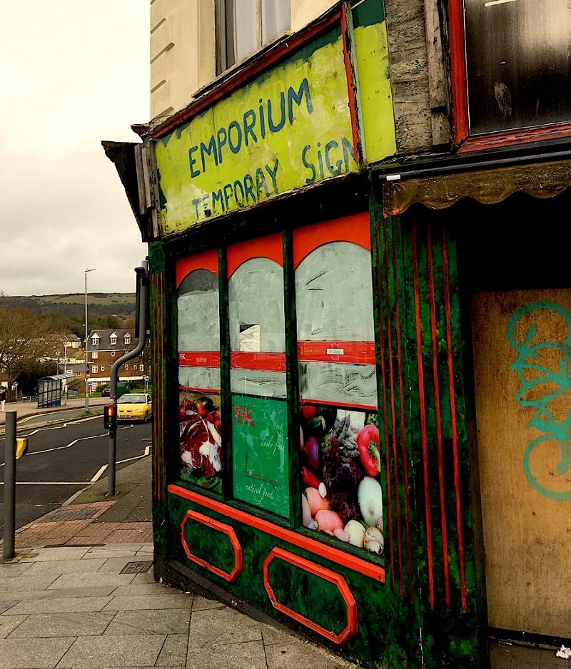 """Hausschild """"Emporium, Temporar Sign"""""""
