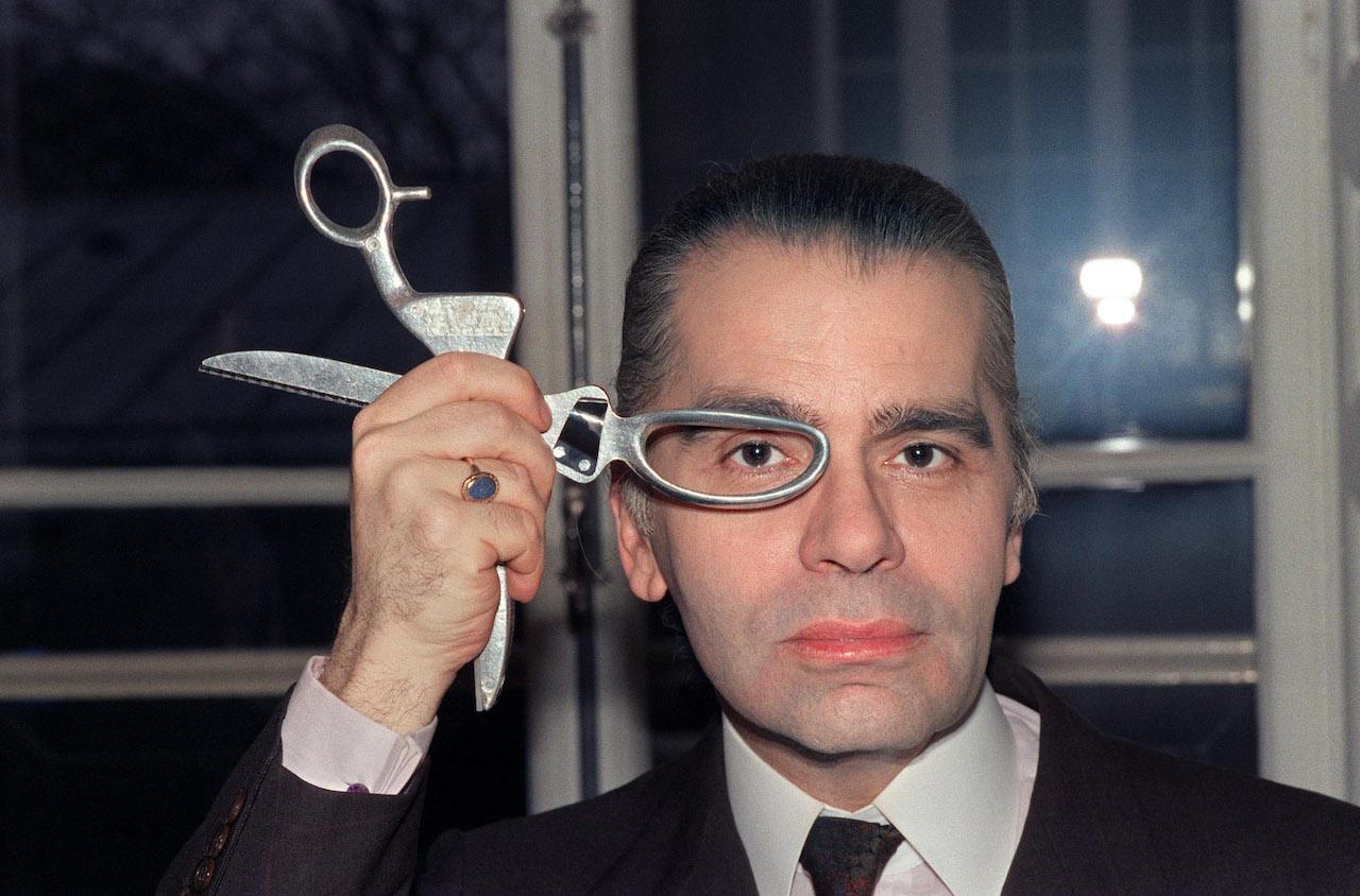 Karl Lagerfeld 1987