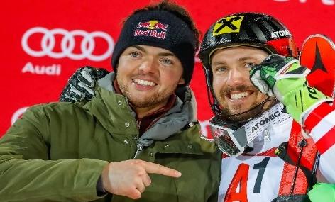 Matthias Walkner und Marcel Hirscher