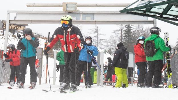 Semmering Skigebiet in Corona-Zeiten