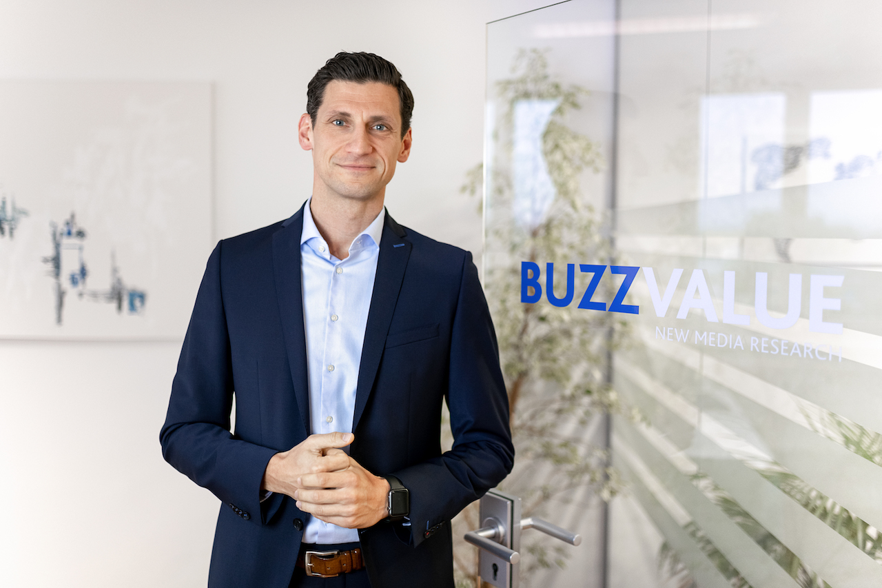 Markus Zimmer, Geschäftsführer des Markt- und Medienforschungsunternehmens BuzzValue
