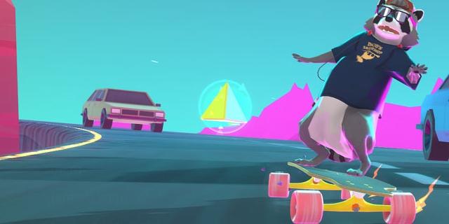 "Bildschirmfotos aus dem Computerspiel ""Tanuki Sunset"""