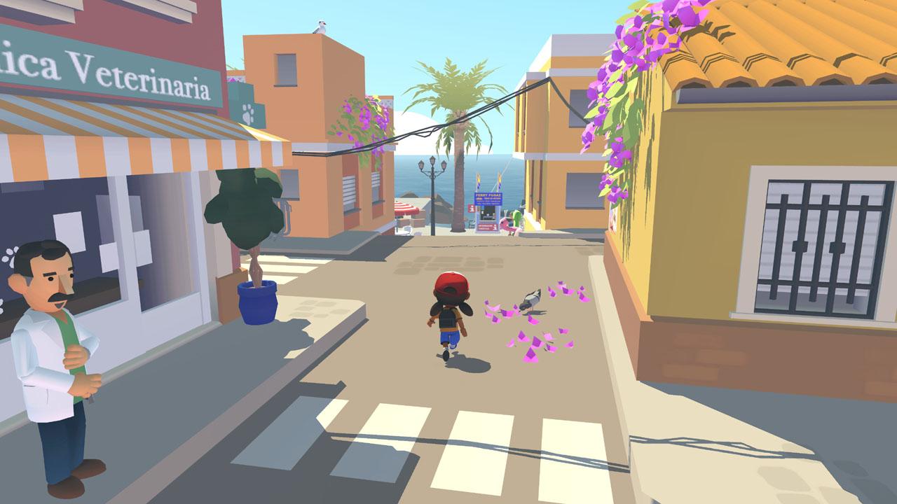 """Bildschirmfoto aus dem Computerspiel """"Alba: A Wildlife Adventure"""""""