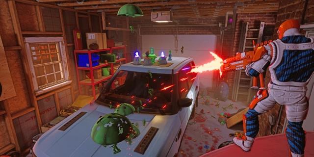 Screenshot des Spiels Hypercharge: Unboxed
