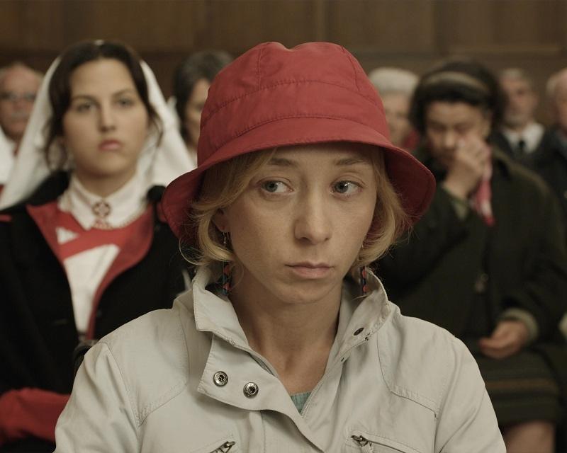 """Filmstill aus """"Lourdes"""": Jessica Hausner schickte Sylvie Testud als Christine auf Wallfahrt."""