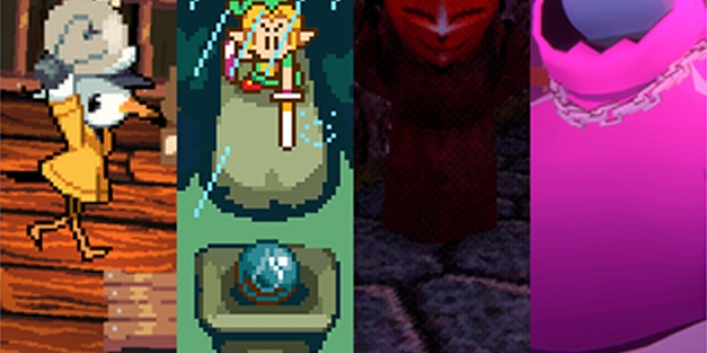 Collage von Game-Jam-Spielen
