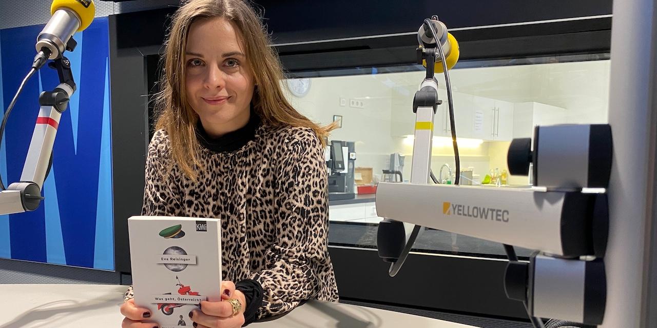 Autorin Eva Reisinger, Buch Was geht Österreich