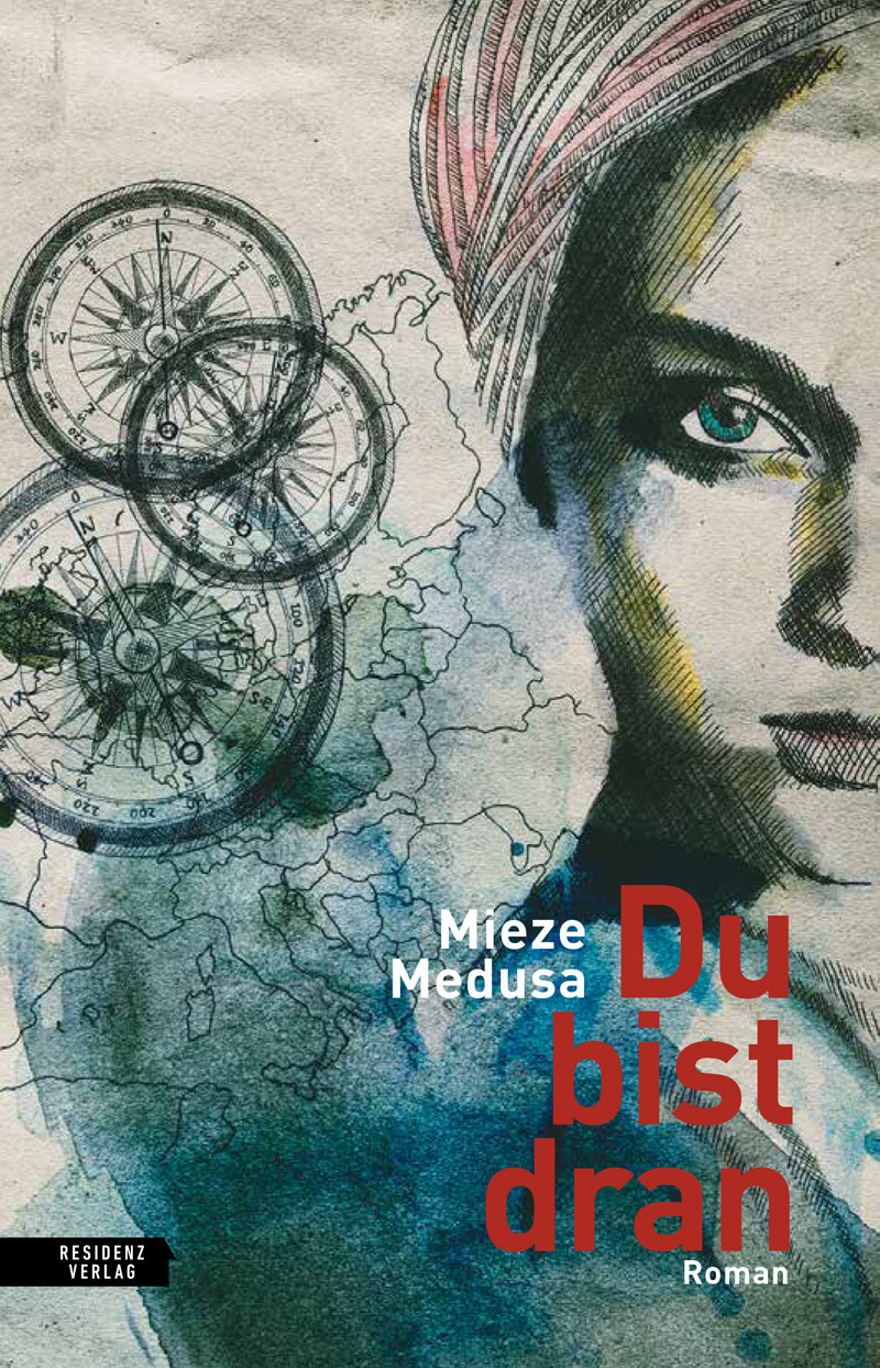 """Buchcover von Mieze Medusas Roman """"Du bist dran"""""""