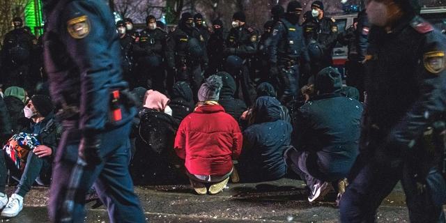 Protest gegen die Abschiebung von Familien in den Kaukasus