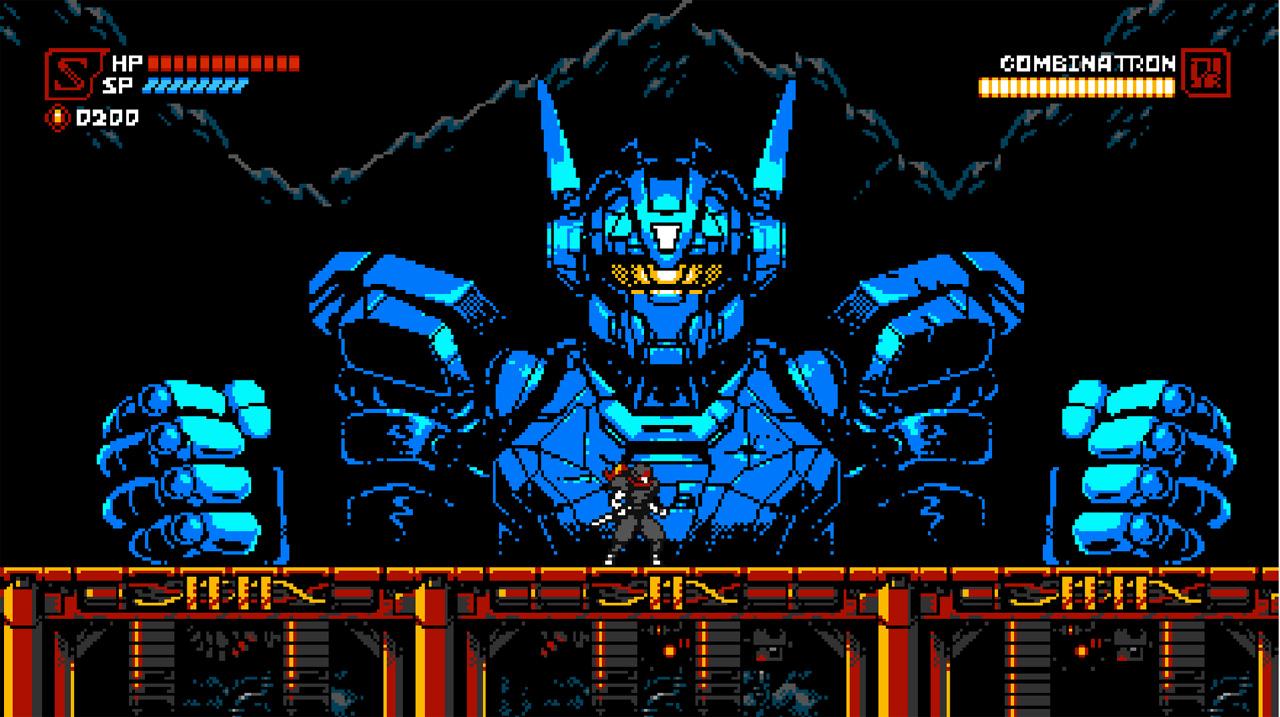 """Bildschirmfoto aus dem Game """"Cyber Shadow"""