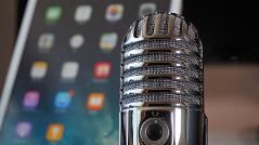 Mikrofon Podacast Tablet
