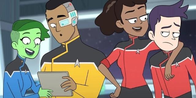 Star Trek Crew der Lower Decks