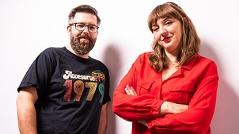 """Tatjana Lukáš & Bernhard Madlener von """"Podcastwelt"""""""