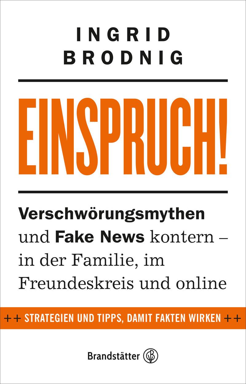 """Cover von Ingrid Brodnigs Buch """"Einspruch"""""""