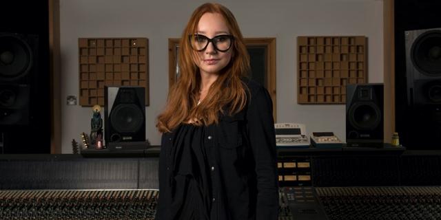 Tori Amos im Tonstudio