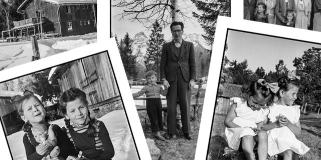 Fotos von Erwin Thurnher von der Tschengla und Familie Helfer