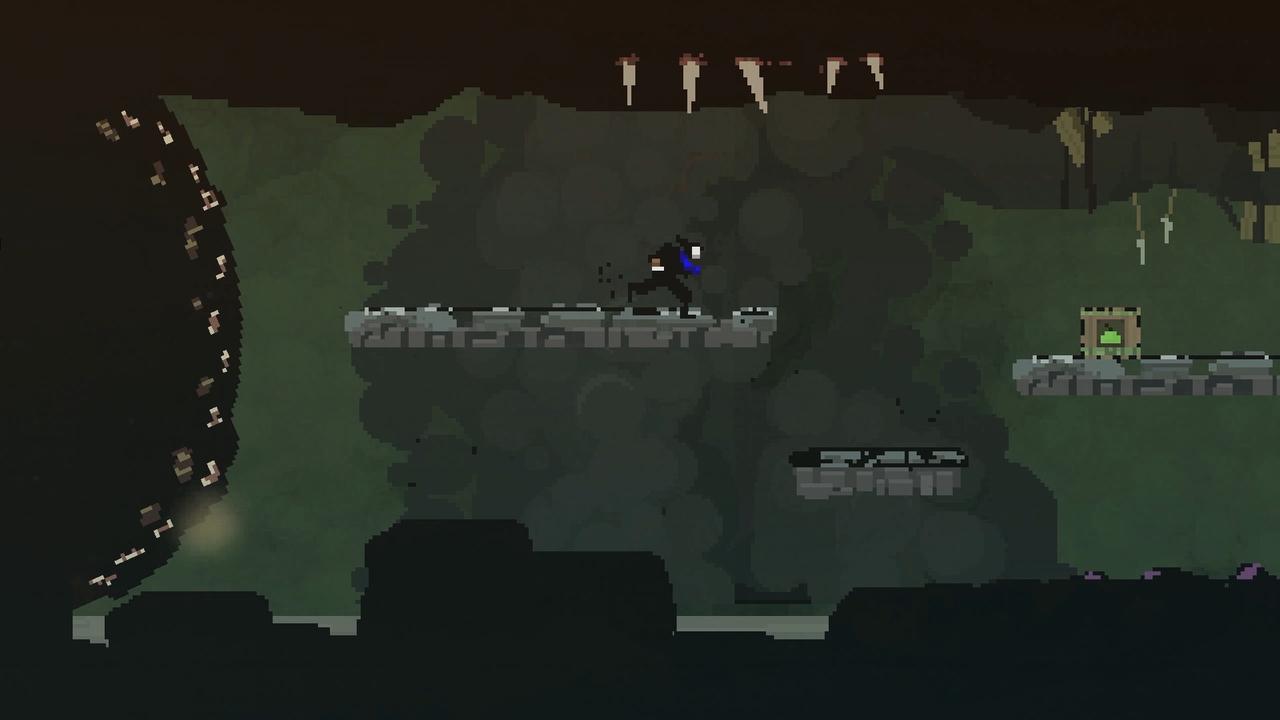 Screenshot Olija Dunkle Höhle