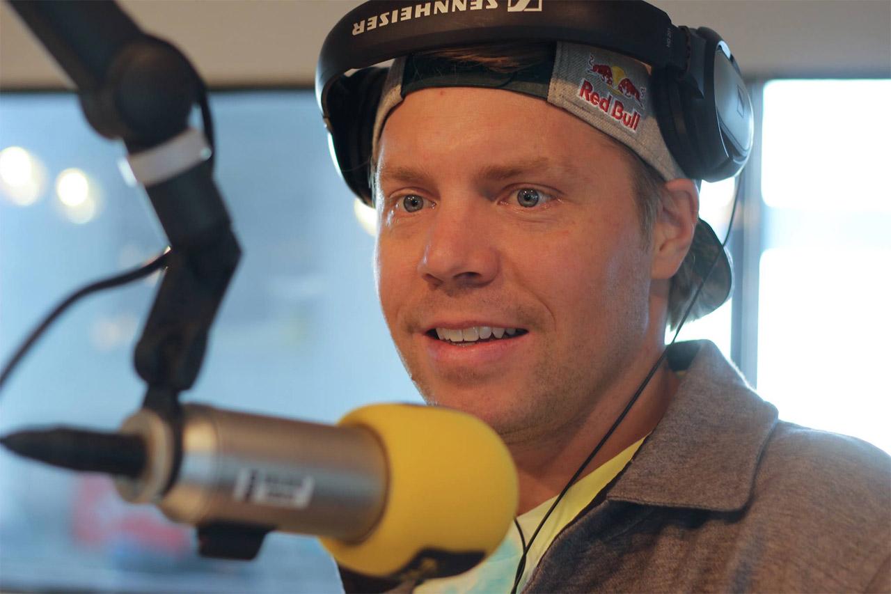 Travis Rice im FM4 Studio