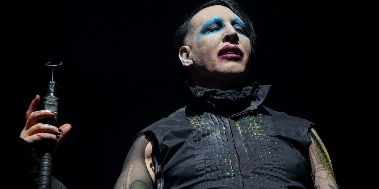 Marilyn Manson performs during the Astroworld Festival at NRG Stadium on November 9, 2019 in Houston, Texas