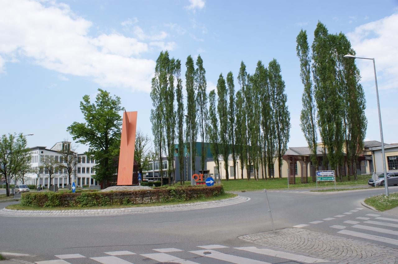 Kreisverkehr in Hohenems