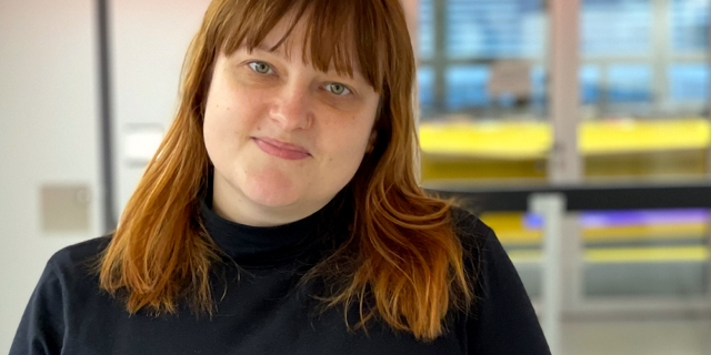 Beatrice Frasl zu Besuch bei FM4