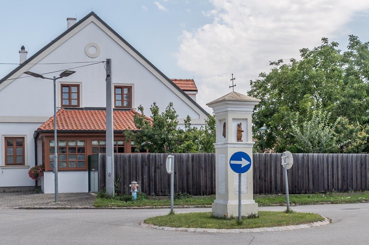 Kreisverkehr in Wilfersdorf