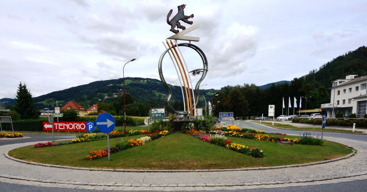 Kreisverkehr in Wolfsberg