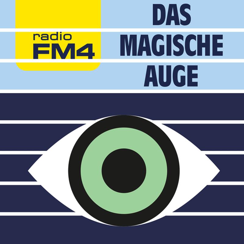 """Ein offenes Auge als Logo für den Podcast """"Das magische Auge"""""""