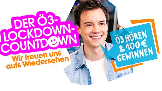 Aktionssujet Ö3-Lockdown-Countdown