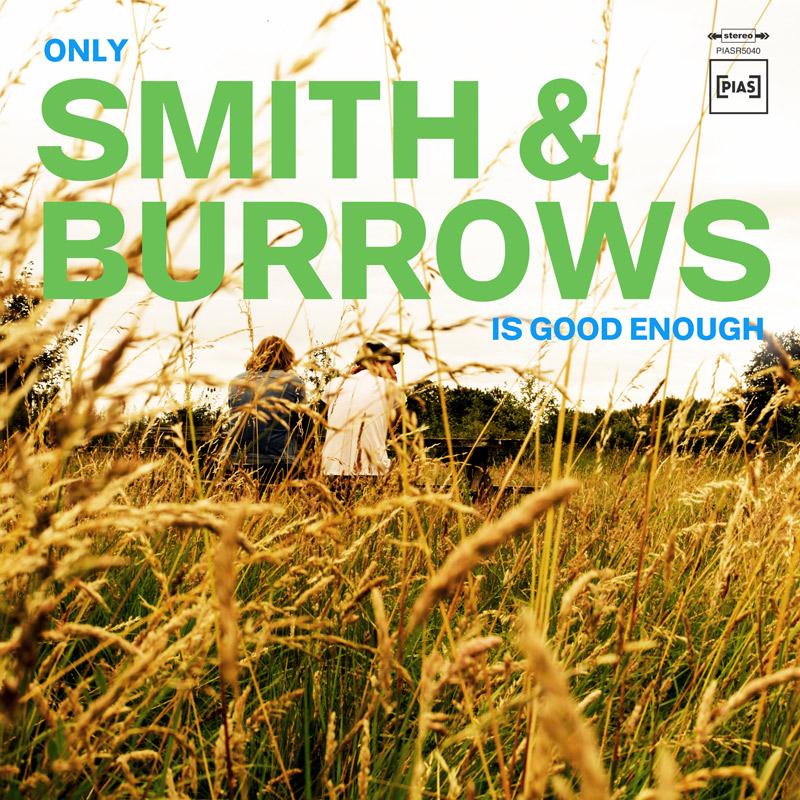 """Albumcover von Smith & Burrows: """"Only Smith & Burrows Is Good Enough""""; die beiden in einer Wiese"""