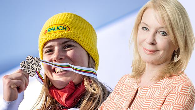 Gerda Rogers prophezeit großes für Katharina Liensberger