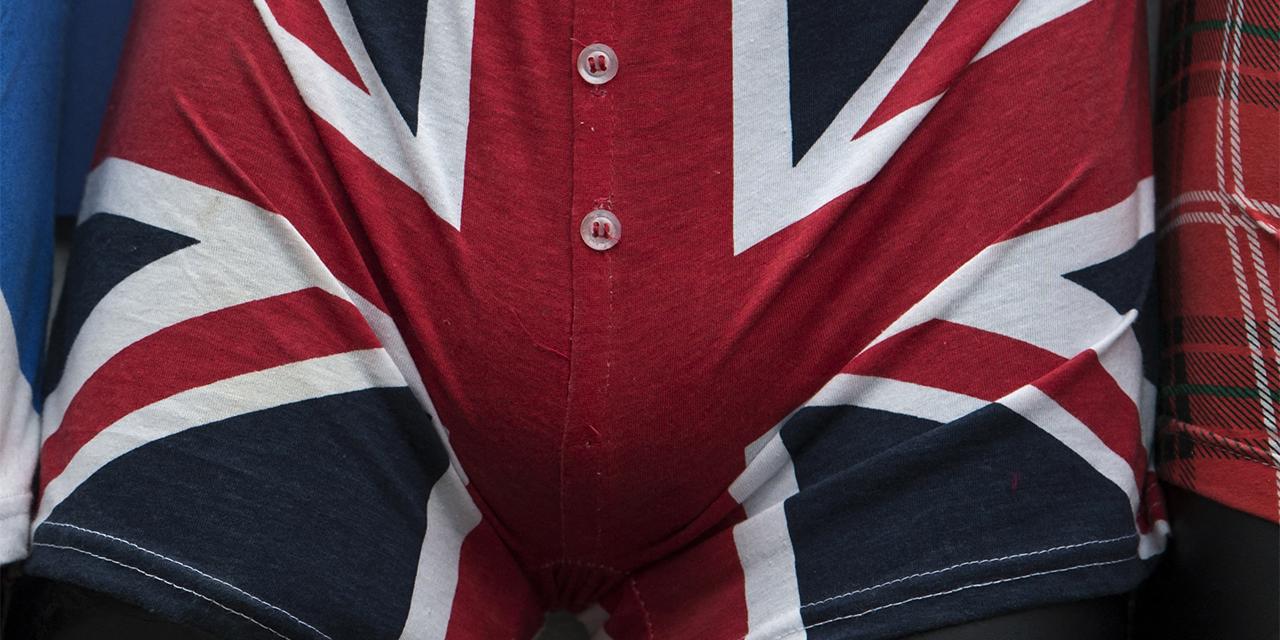 Unterhose mit Union Jack Muster
