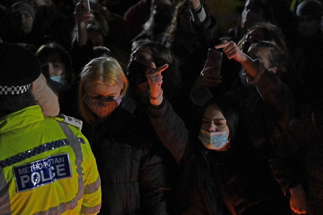 Sarah Everard Mahnwache London Polizei