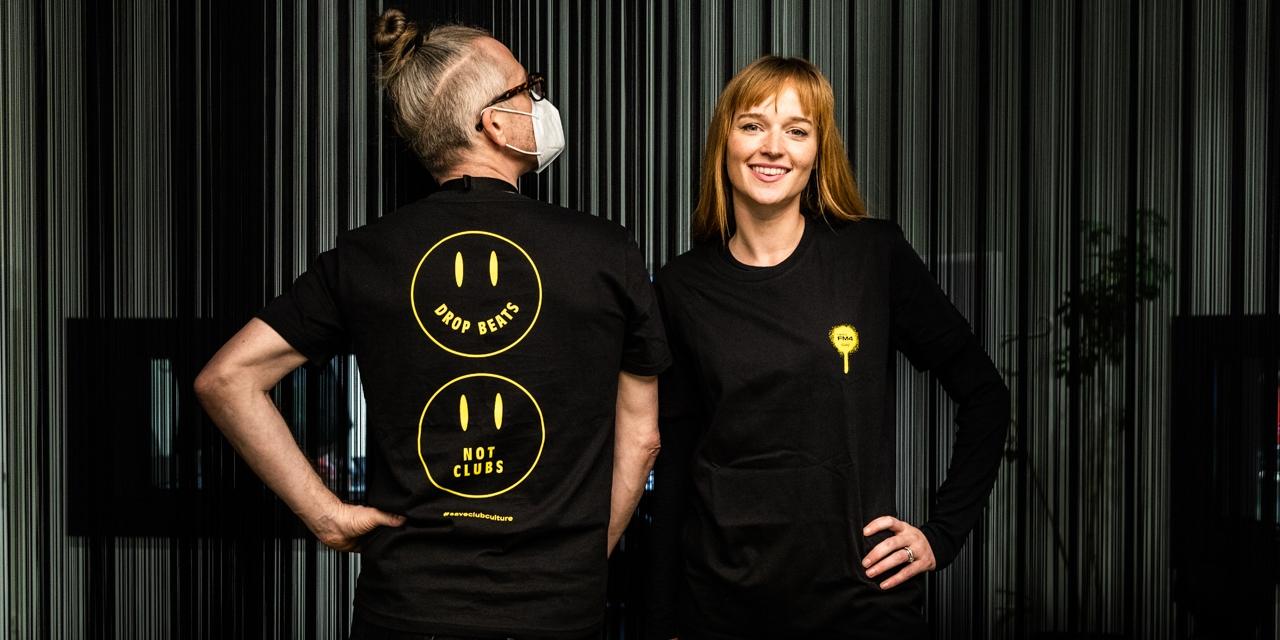 Kristian Davidek und Annika Stein beim 2. FM4 Unlimited Tag der DJs und Clubs
