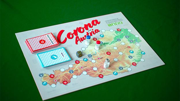 "Brettspiel ""Corona-Austria"""