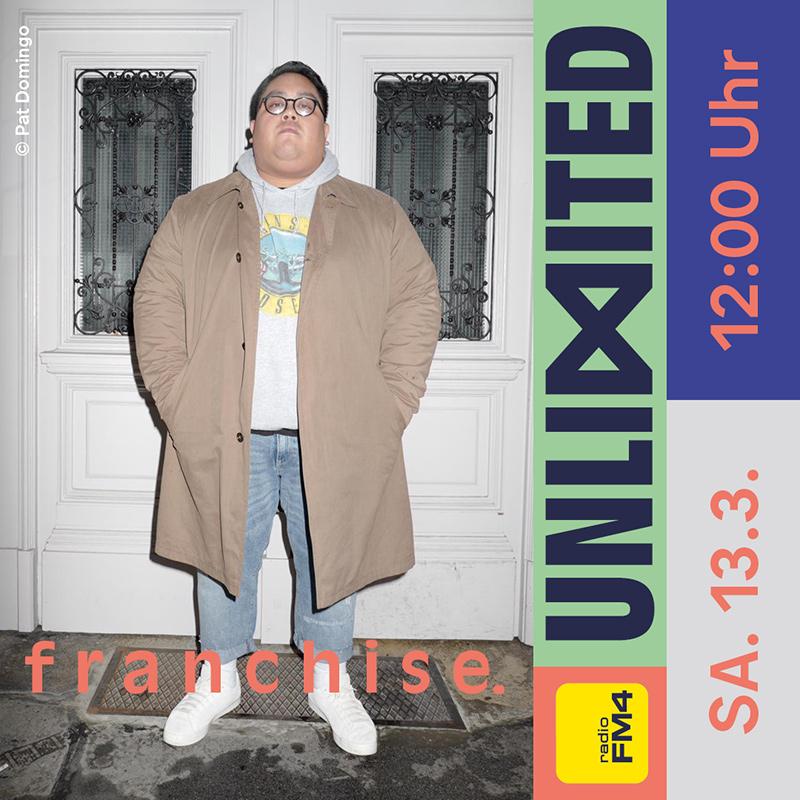 franchise. beim FM4 Unlimited - Tag der Clubs und DJs