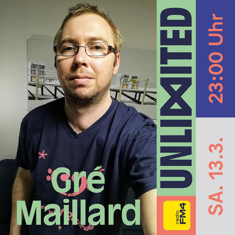 Gré Maillard beim FM4 Unlimited - Tag der Clubs und DJs