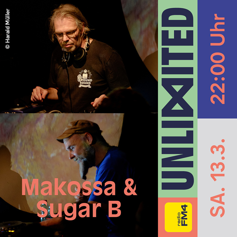 Makossa & Sugar B beim FM4 Unlimited - Tag der Clubs und DJs